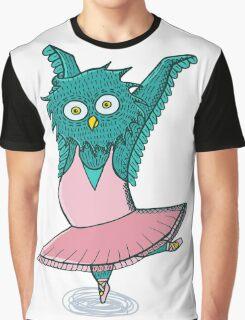 Owl ballet Graphic T-Shirt
