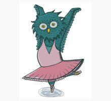 Owl ballet Kids Tee