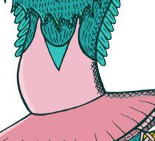 Owl ballet Sticker