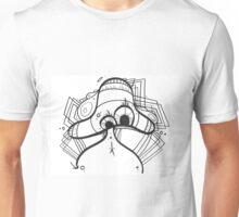 Chaoshroom freehand colorless art Unisex T-Shirt