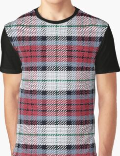 Scottish tartan black, red and green Graphic T-Shirt