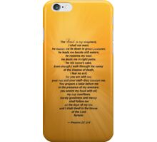 The Lord is My Shepard 2 iPhone Case/Skin