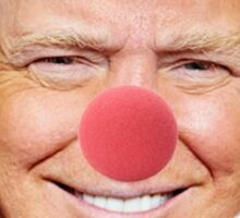 Trump the Clown Sticker