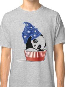 Panda America Cupcake  Classic T-Shirt