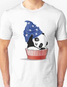 Panda America Cupcake  Unisex T-Shirt