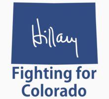 Colorado for Hillary Baby Tee