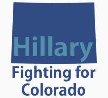 Colorado for Hillary Kids Tee