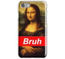 Bruh Mona Lisa iPhone Case/Skin