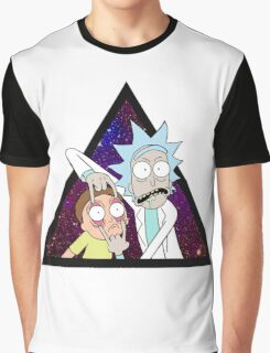 Rick and morty space v6. Graphic T-Shirt