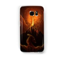 Dragon Born, Volcano Dragon Samsung Galaxy Case/Skin
