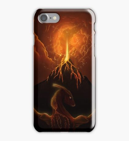 Dragon Born, Volcano Dragon iPhone Case/Skin