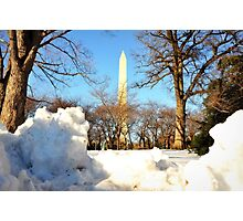 Winter in DC Photographic Print