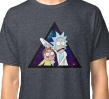 Rick and morty space v7. Classic T-Shirt