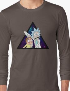 Rick and morty space v7. Long Sleeve T-Shirt