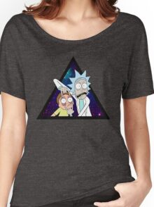 Rick and morty space v7. Women's Relaxed Fit T-Shirt