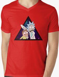 Rick and morty space v7. Mens V-Neck T-Shirt