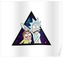 Rick and morty space v7. Poster