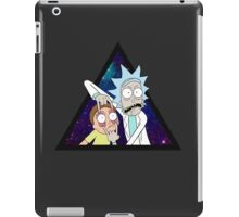 Rick and morty space v7. iPad Case/Skin