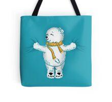 Polar Bear Hug Tote Bag