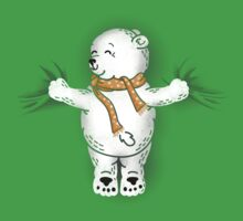 Polar Bear Hug Kids Tee