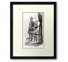 Wizard Studies Framed Print