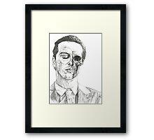 His Death Wish Framed Print