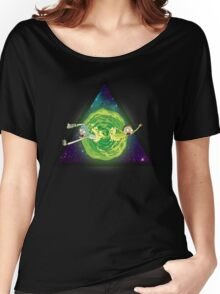 Wormhole!! Women's Relaxed Fit T-Shirt