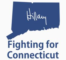 Connecticut for Hillary Kids Tee