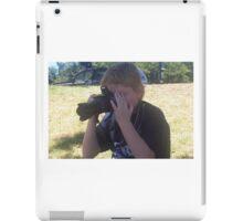 Dale and camera iPad Case/Skin