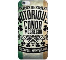 McGregor TriColour Crest iPhone Case/Skin