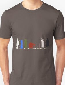 Lord Of The Rings Shilloutte Unisex T-Shirt
