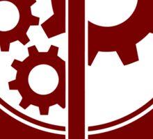Brotherhood of Steel Emblem (Red) Sticker