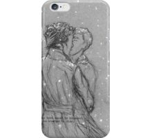 Winter in Baker Street iPhone Case/Skin