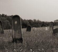Hospital Cemetery #2 Sticker