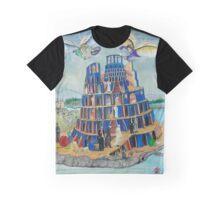 Walking the Tower of Babylon Graphic T-Shirt