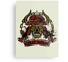 Great Khans - fallout new vegas Metal Print