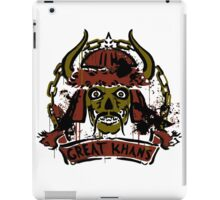Great Khans - fallout new vegas iPad Case/Skin