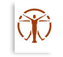 The Institute (orange logo) - Fallout 4 Canvas Print