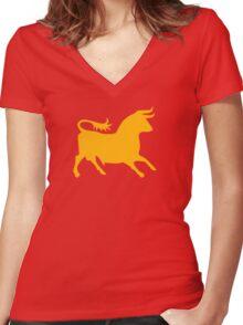 Caesar's Legion - Fallout New Vegas Women's Fitted V-Neck T-Shirt