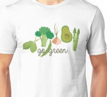 Go Green! - Vegan/Vegetarian  Unisex T-Shirt