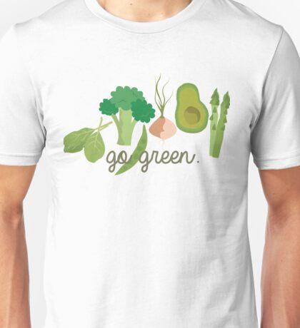 Go Green! - Vegan/Vegetarian  Unisex T-Shirt