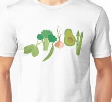 Green Veggies Unisex T-Shirt