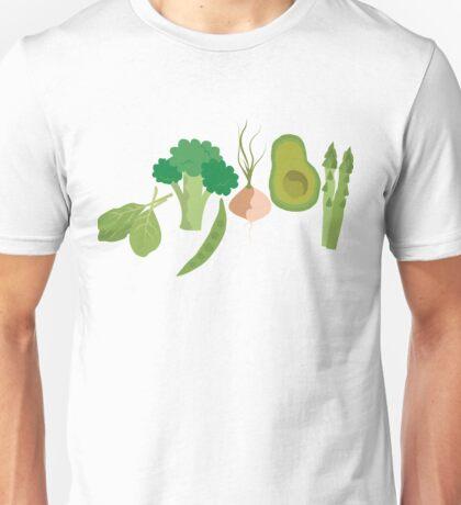 Green Veggies Unisex T-Shirt