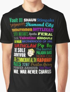 Wasteland Words... Graphic T-Shirt