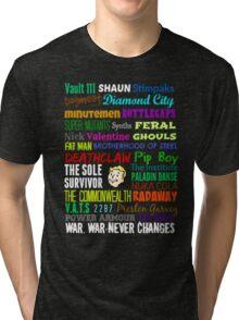 Wasteland Words... Tri-blend T-Shirt