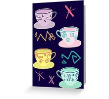 Alice's Mad Tea Party Greeting Card