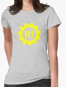 Vault 111 - Emblem Womens Fitted T-Shirt