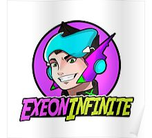 ExeonInfinite Avatar (With Name) - Inspired by Megaman / Neon Genesis Evangelion Poster