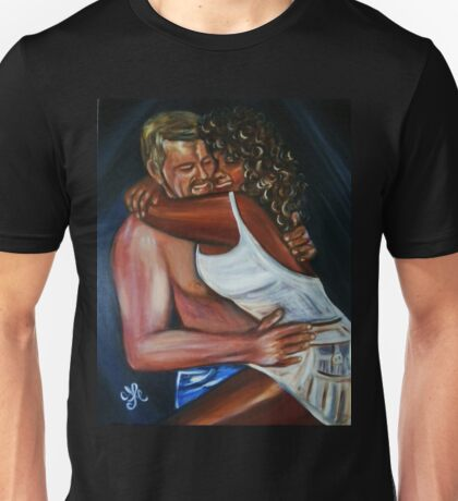 Jeny & Rene - Interracial Lovers Series  Unisex T-Shirt
