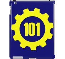 Vault 101 - emblem iPad Case/Skin